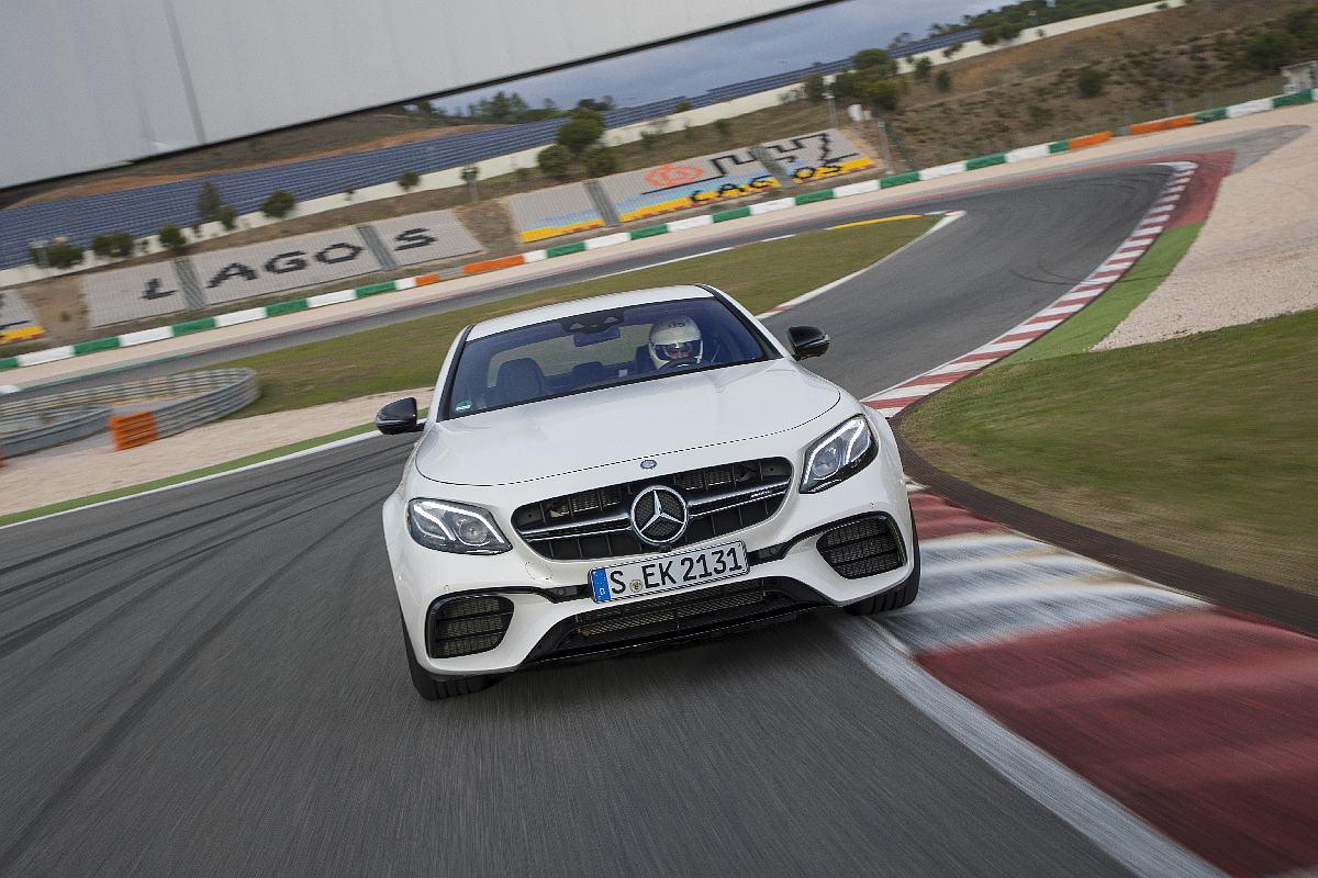Presse FahrvorstellungDer neue Mercedes-AMG E 63 4MATIC+ Portimão 2016Press Test Drive Mercedes-AMG E 63 Portimao 2016