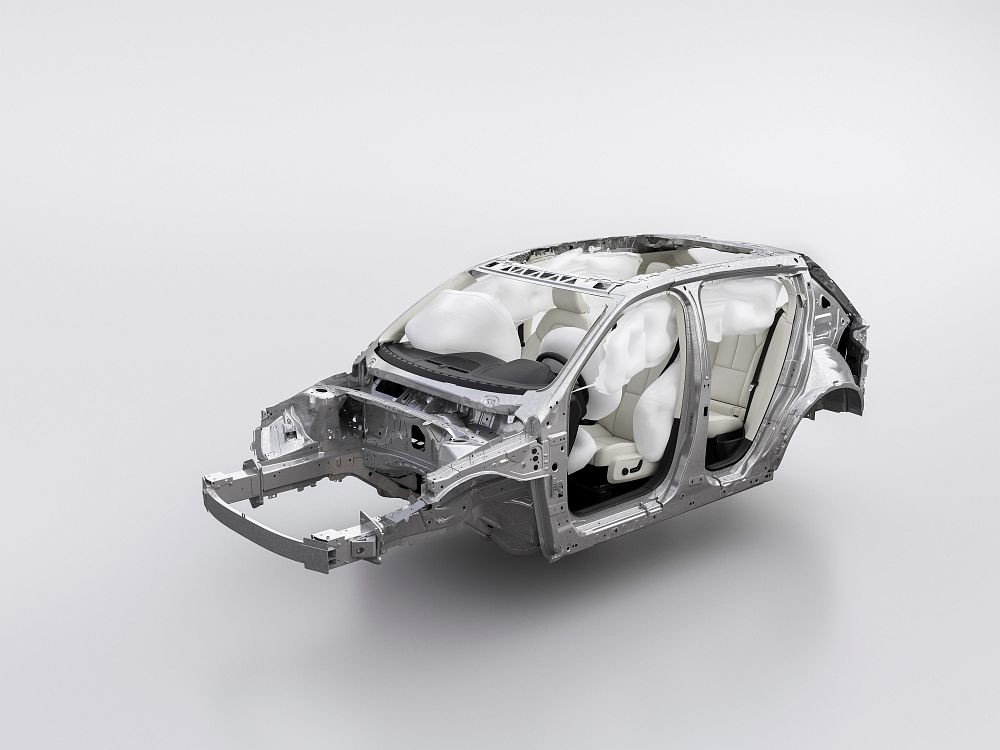 New Volvo XC40 – Airbags