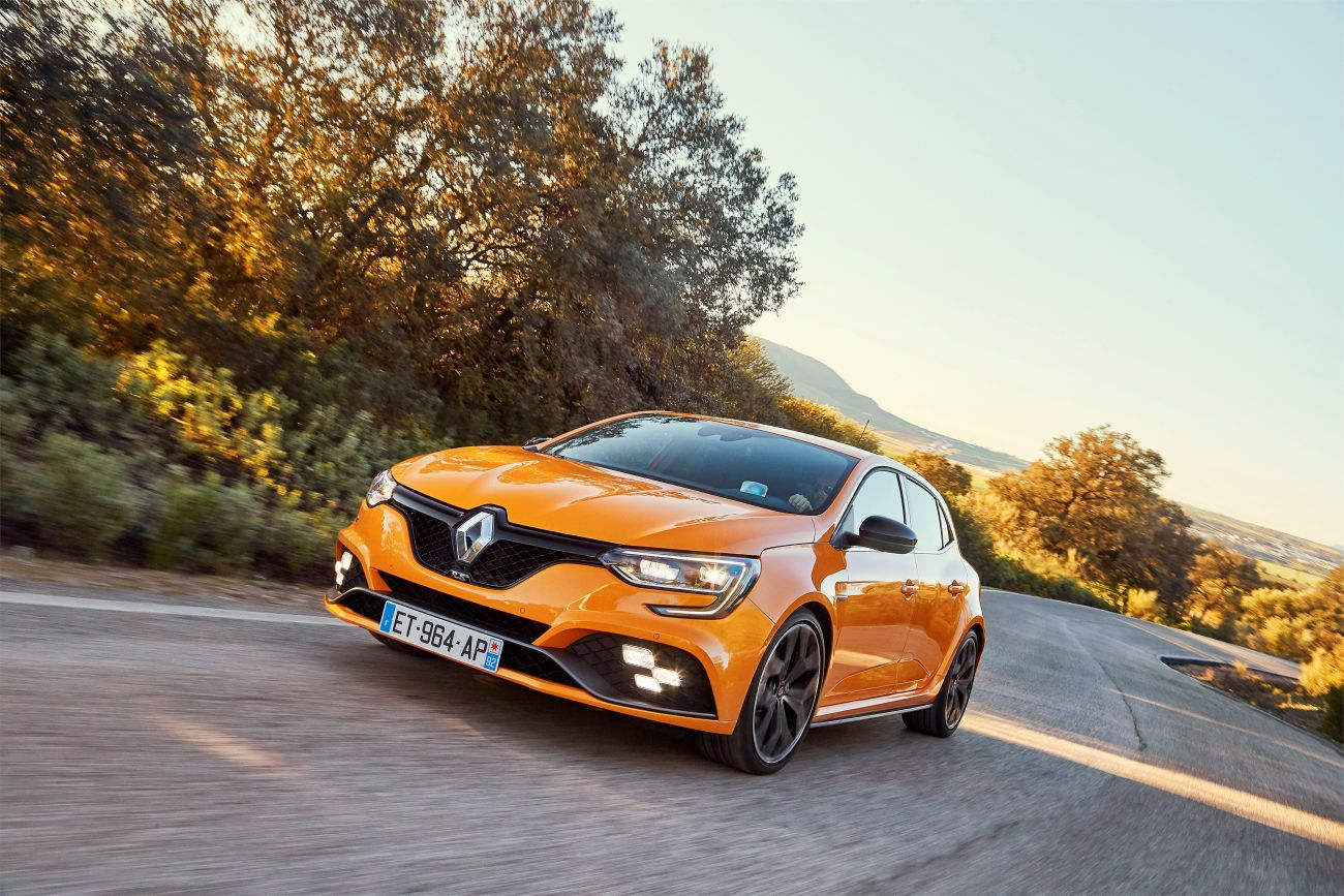 2018 – New Renault MEGANE R.S. Sport chassis tests drive in Spain