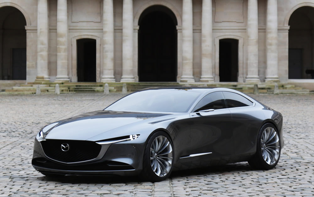 mazda vision coupe conquista pr mio do concept car mais elegante. Black Bedroom Furniture Sets. Home Design Ideas